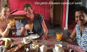Maison de charme- Petits déjeuners servis de 9H00 à 10H30