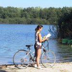 38km de digue à faire en toute tranquillité à vélo